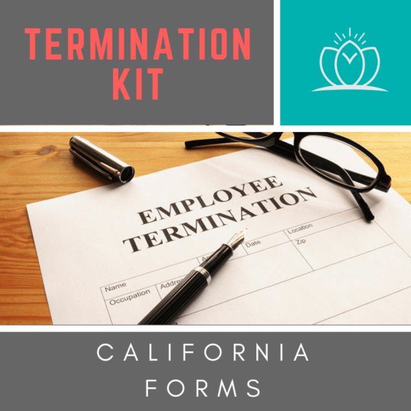 be the change HR - HR Product Download -Termination Kit - California