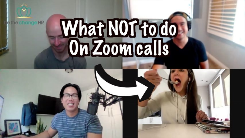 What NOT to do on zoom calls